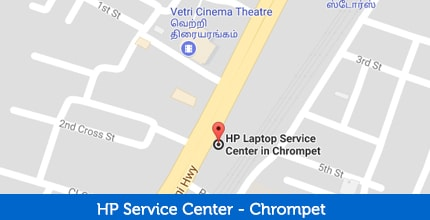 HP Laptop Service Center in Chrompet