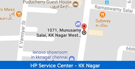 HP Laptop Service Center in KK Nagar