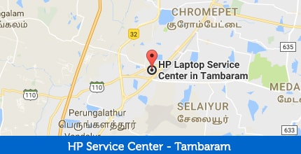 HP Laptop Service Center in West Tambaram